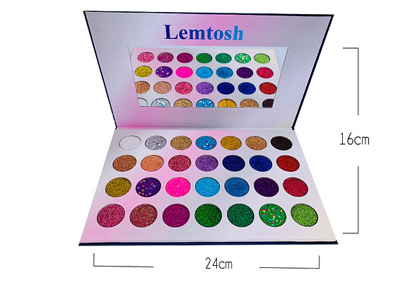 Paleta de Glitter Lemtosh