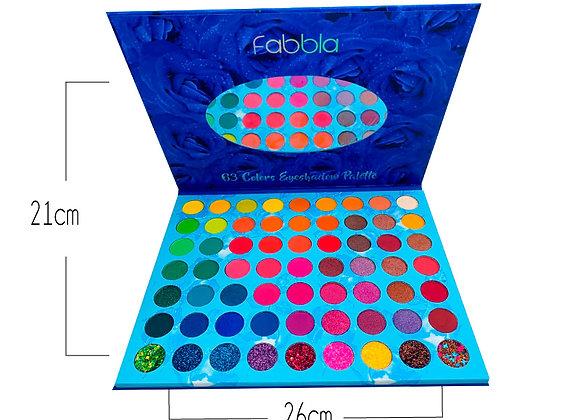 Paleta de Sombras Blue Rose 63TN Fabbla