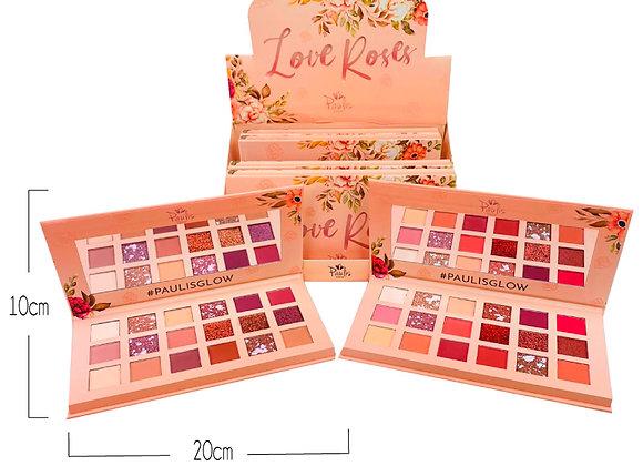 Paleta de Sombras Love Roses