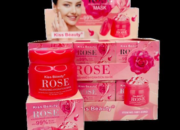 MASCARILLA EN GEL DE ROSAS KISS B EAUTY