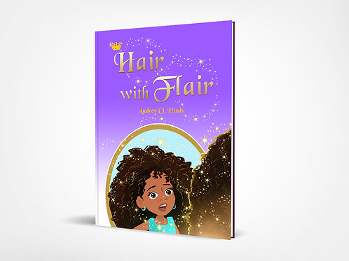Autographed Hair with Flair Book (Soft Cover)