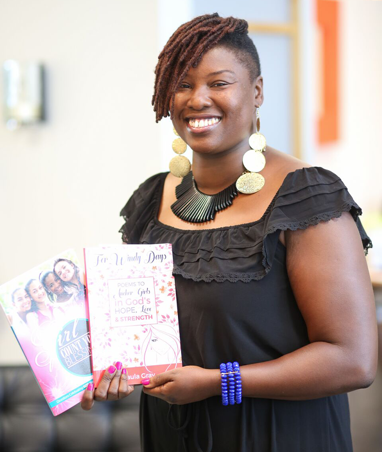 Author Paula Gray