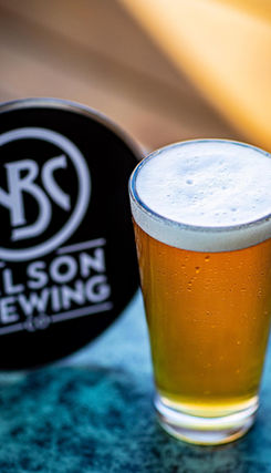 Icy Draft Beer - Nelson Brewing Company Pictured