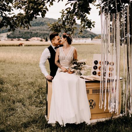 Bulliversum   Theke Beige Hochzeit