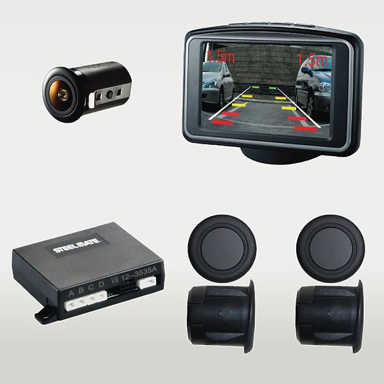 Steelmate Rear Parking Sensors With Camera/Monitor