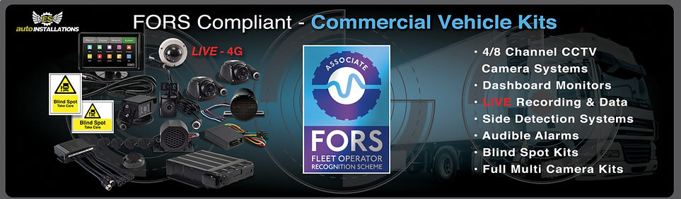 FORS Commercial vehicle kits