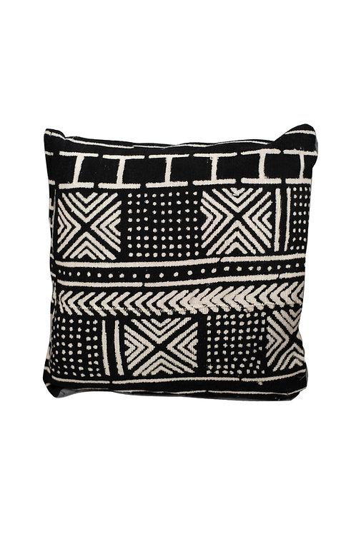 Black Bogolan cushion