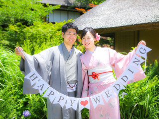 HAPPY♡WEDDING!!!な、お2人♡