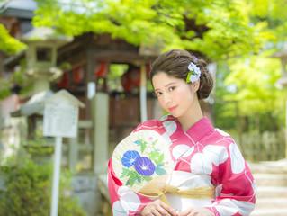 浴衣ロケ撮影が最大2,000円OFFに☆!!8、9月特別キャンペーン♪