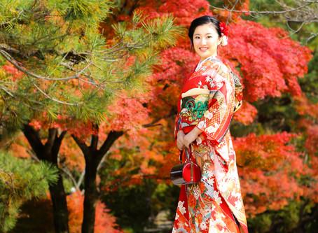 今年も紅葉の季節がやって参ります…!♡v♡~成人式ロケ撮影のご案内~