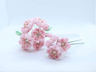 【つまみ細工】桜の簪②✿