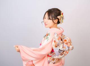 ピンクで可愛く成人式♡♡