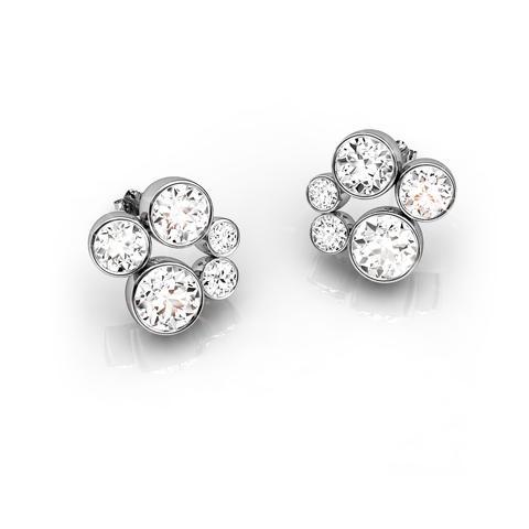 18ct White Gold & Diamond Earrings 1.00ct