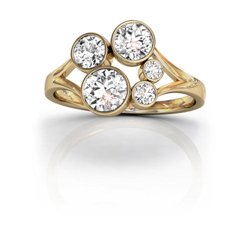 18ct Yellow Gold Diamond Ring 1.00ct