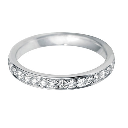 Diamond Pavé full set Wedding Ring