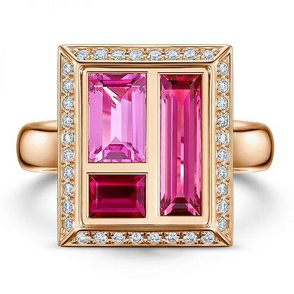 Andrew Geoghegan Chocolate Box Rose Ring