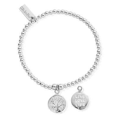 ChloBo Cute Charm Live Love Bracelet