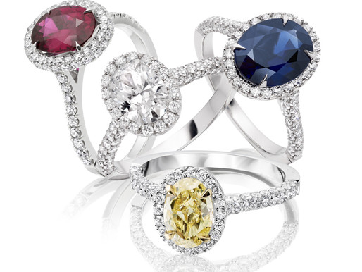 Beautiful and Bold Coloured Gemstones are HOT!