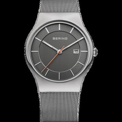 Bering Milanese grey Men's Watch