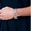 Thumbnail: Lucy Q Continual Splash Bangle with Hinge