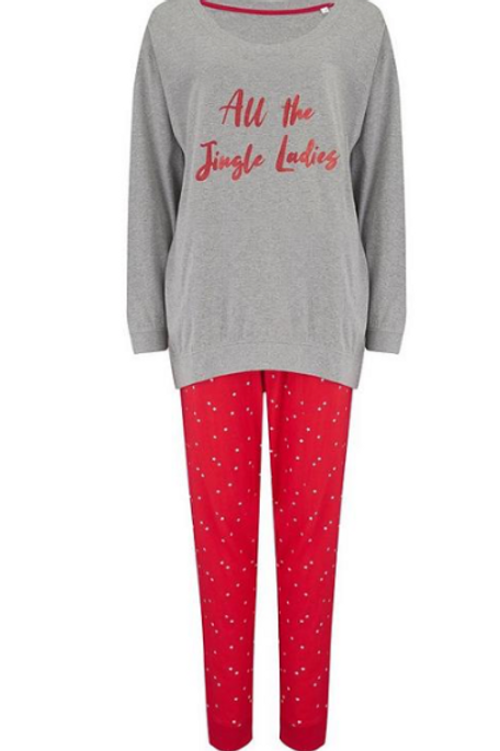 Pour Moi All The Jingle Ladies PJ's