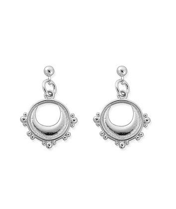 ChloBo Lightening Half Moon Drop Earrings