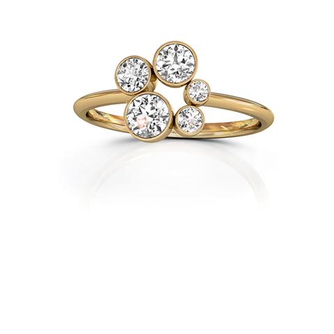 18ct Yellow Gold Diamond Ring 0.50ct