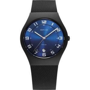 Bering classic Milanese Black Men's Watch