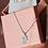 Thumbnail: ChloBo Diamond Cut Chain With Moon & Star Hamsa Hand Pendant