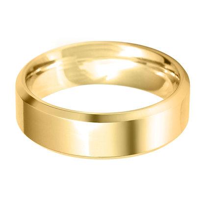 18ct Yellow Gold Men's Wedding Ring
