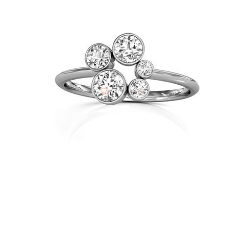 18ct White Gold or Platinum Diamond Ring 0.50ct