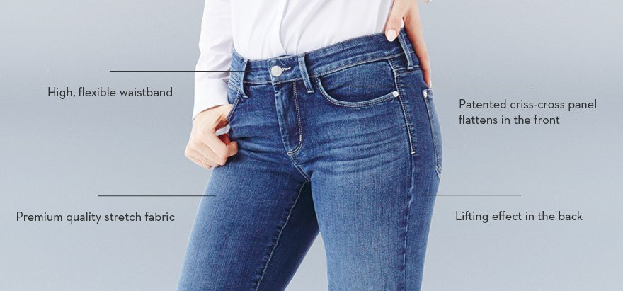 FDJ jeans - we love them and so do our customers! Instantly slimmer YOU!
