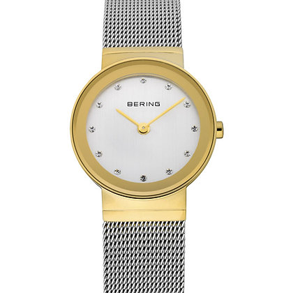 Bering Classic two tone `milanaise dress watch