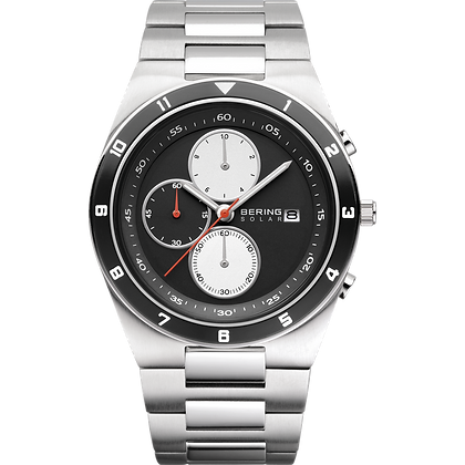 Bering Stainless steel Silver Men's Watch