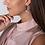 Thumbnail: Claudia Bradby Marilyn Three Pearl Hoop Earrings