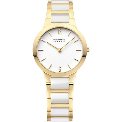 Bering Ceramic Gold watch