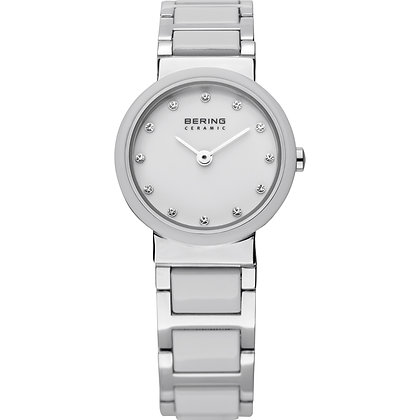 Bering Ceramic Silver watch