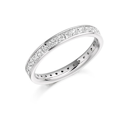 Platinum and Diamond Eternity Ring