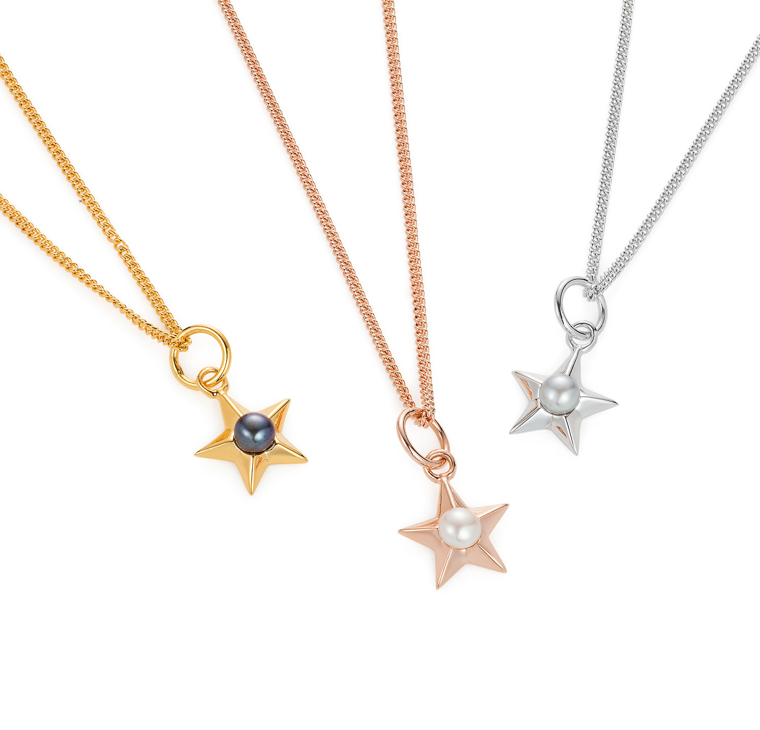 Star Necklace Group Image