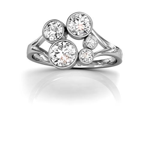 18ct White Gold or Platinum Diamond Ring 1.00ct