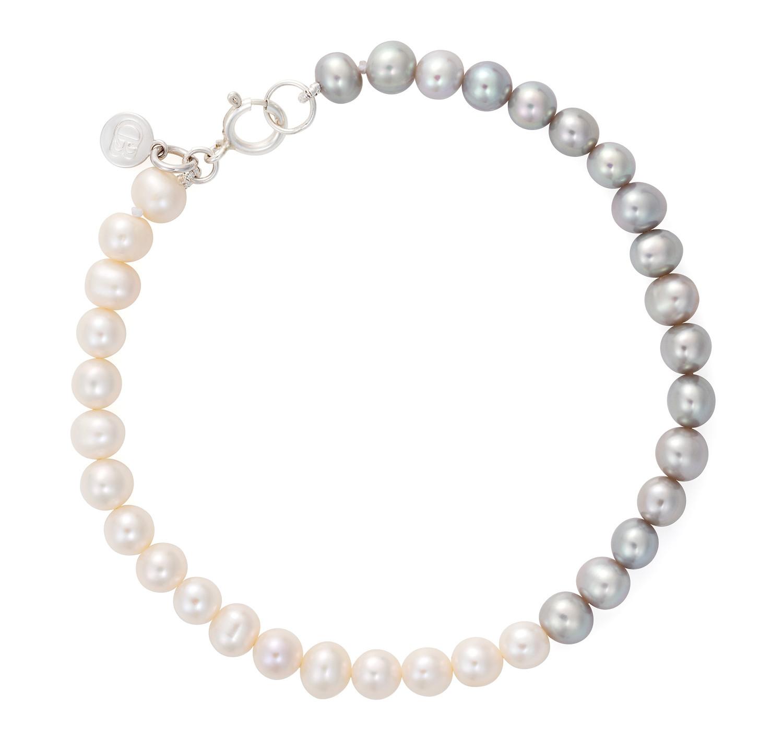 Claudia Bradby_Ombre button pearl bracel