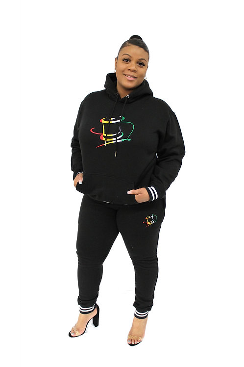Unisex(Embroidered) Track Suit