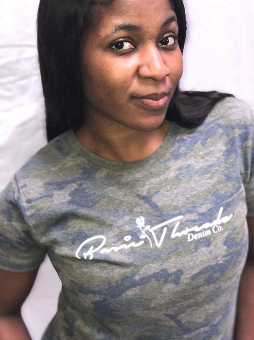 Female Camo Tshirt