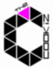 Logo - The Cookiz noir violet fond blanc
