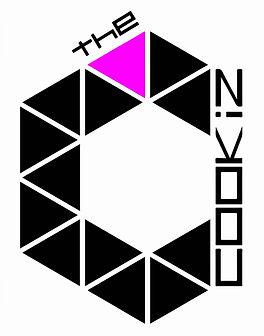 Logo - The Cookiz noir violet fond blanc