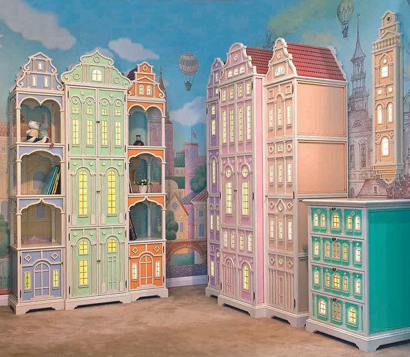 Эксклюзивная детская мебель Карамель