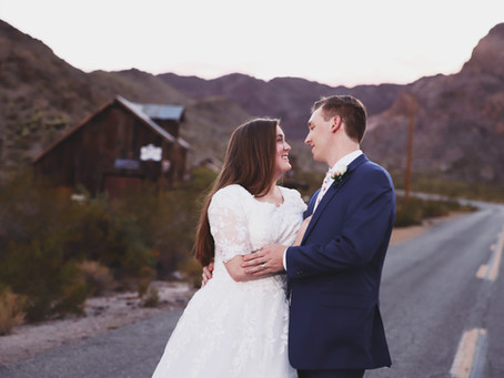 Nelson, NV Pre Wedding Bridal Session | Dorian & Ethan