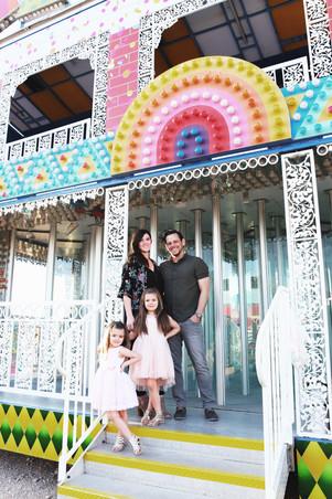 Carnival Family Photo Shoot Inspiration