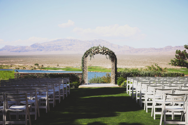 Las Vegas Pauite Golf Course Wedding