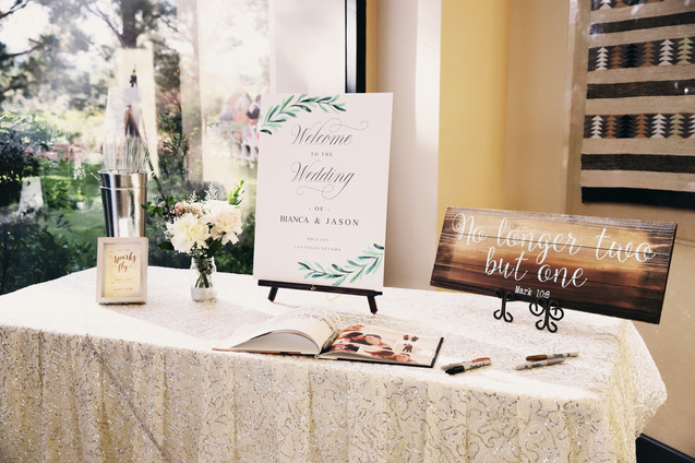 Las Vegas Pauite Golf Resort Wedding